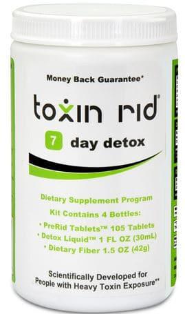 7 day toxin rid detox