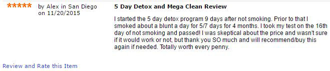 best thc detox method reviewed