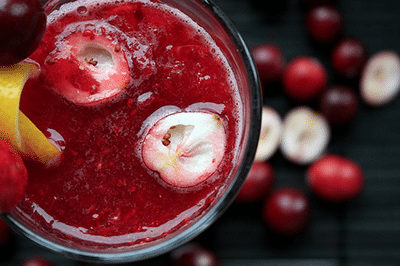 cranberry juice for weed cleanse